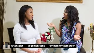 Tonto dikeh's full interview (2016) - by golden icons