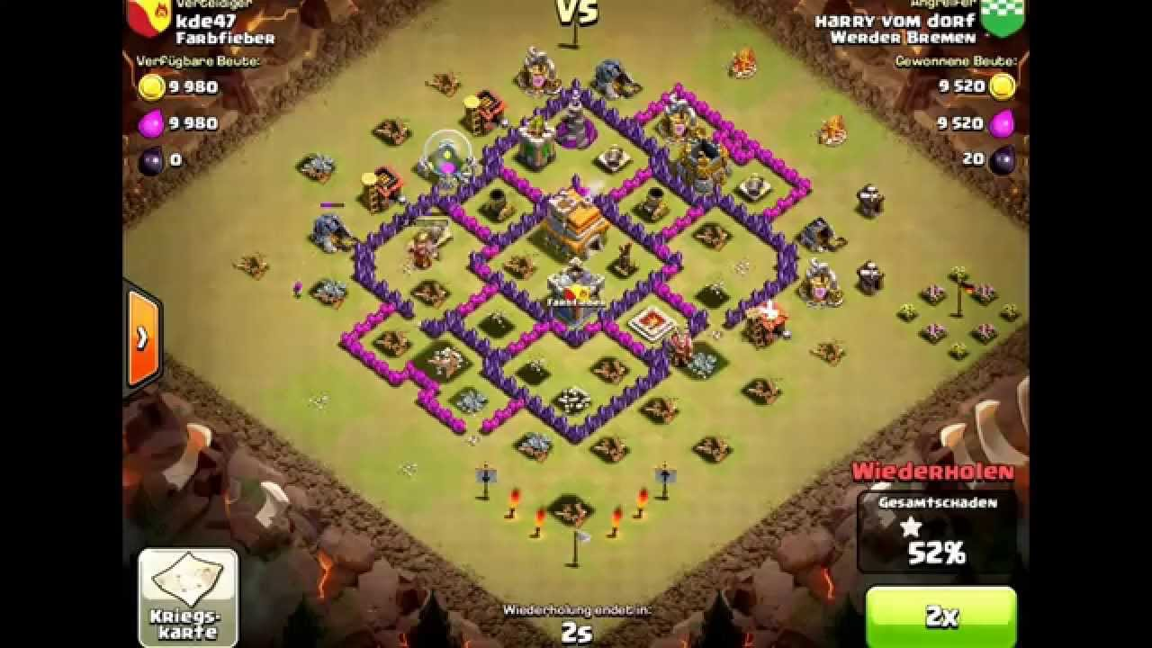 clash of clans beste ck rh7 kriegs basis best cw th 7
