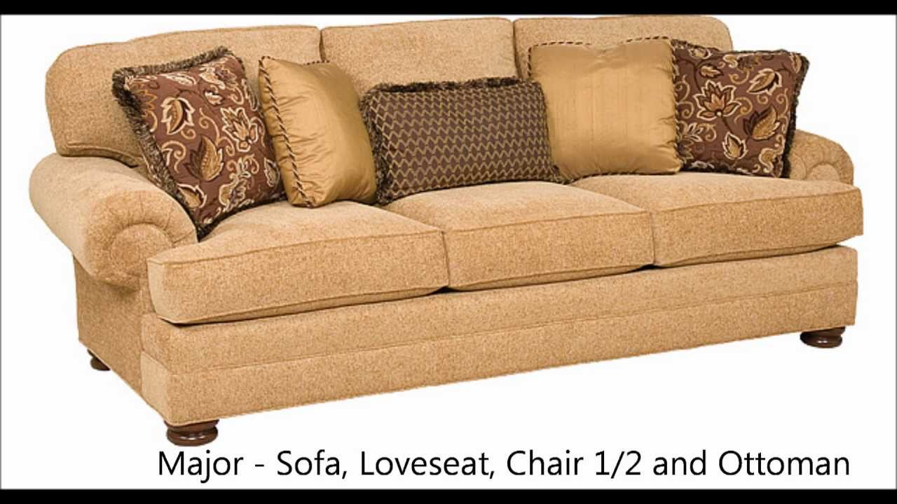 King Hickory Quot Major Quot Sofa Loveseat Chair 1 2 At Barnett