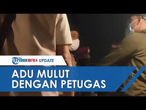 Viral Video Petugas Dan Pemilik Angkringan Saling Bentak Gara-gara Razia PPKM: Saya Enggak Kriminal