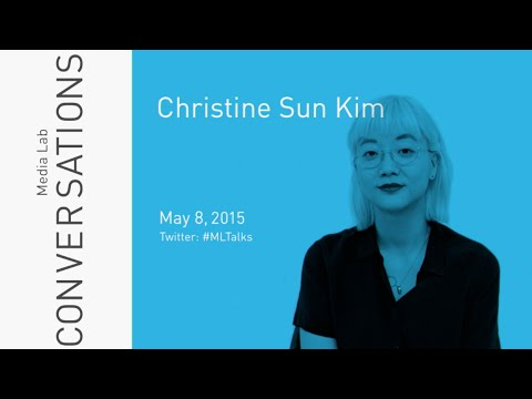 MLTalks: Christine Sun Kim and Joi Ito