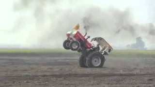 Tractor Stunt In Field   Punjabi Tractor Stunts   YouTube