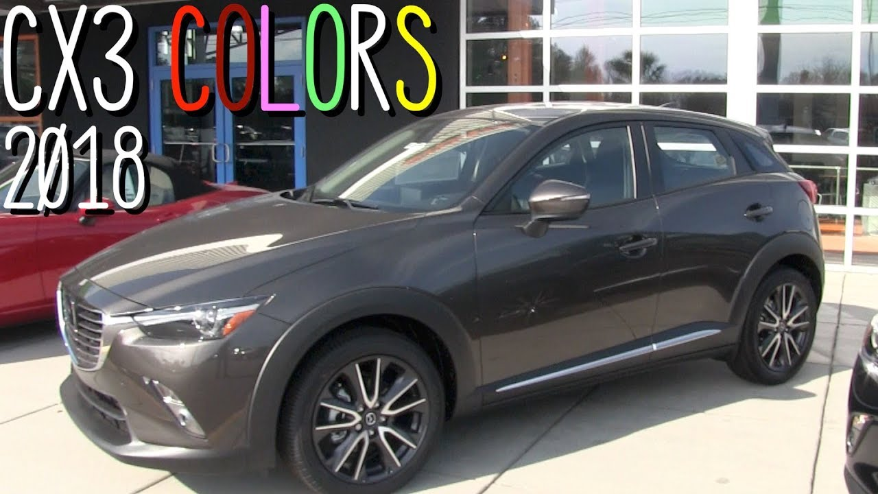 New 2018 Mazda Cx3 Exterior Colors Review Youtube
