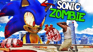 ZOMBIE SONIC is BACK in GTA 5 (Scary)