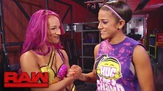 Bayley's got Sasha Banks' back: Raw, Oct. 3, 2016