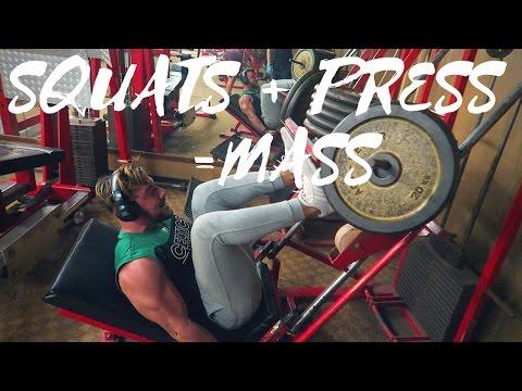 DES SQUATS &  DE LA PRESS POUR DES JAMBES MASSIVES ⎜Road to 100kg EP.15