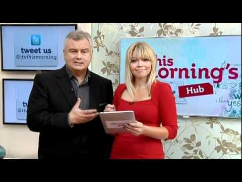 Kate Thornton in the This Morning hub - 11th August 2011