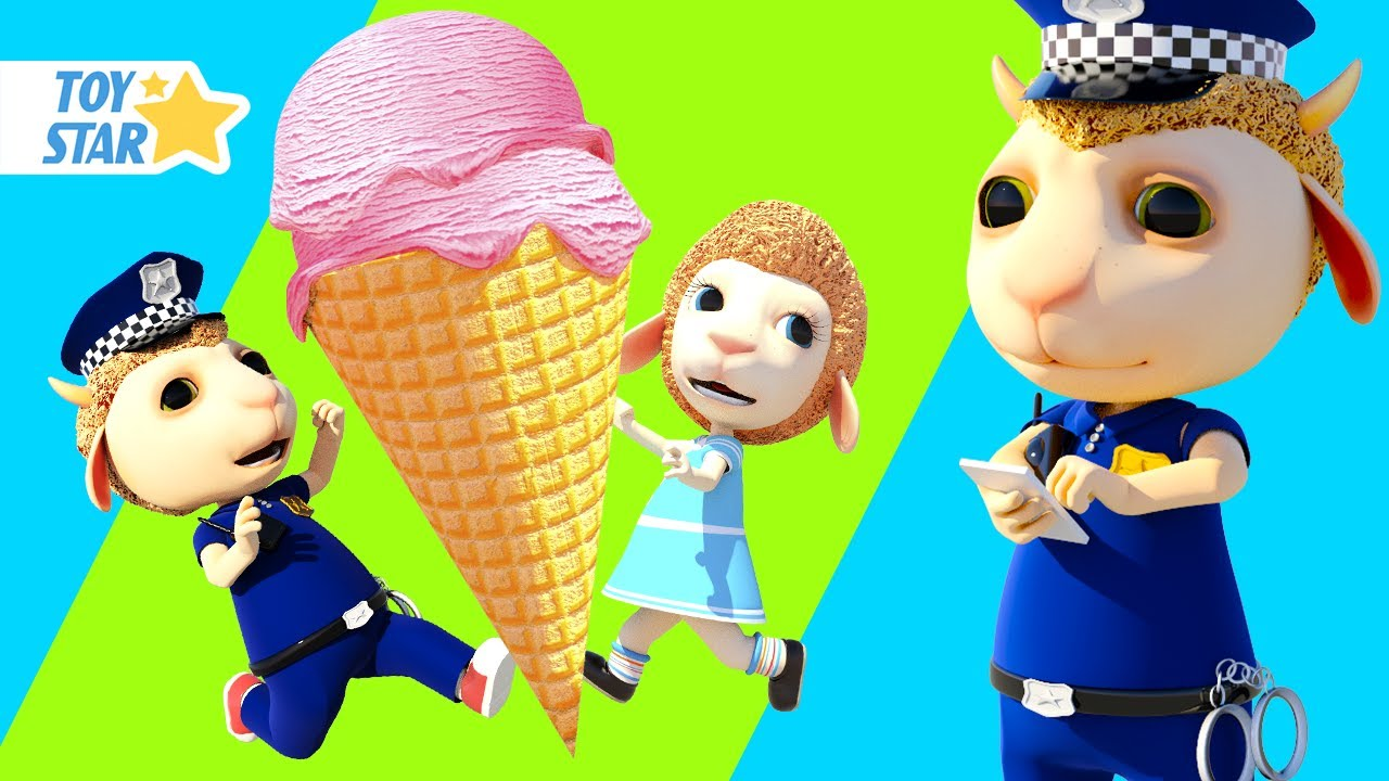Dolly and Tommy Pretend Play Police Kids Stories: Policeman Here to Help And Keep Everyone Safe #289