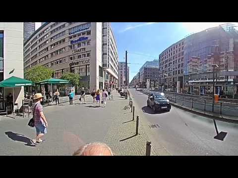 Berlin: Am Bahnhof Friedrichstrasse station in 360° Grad degrees