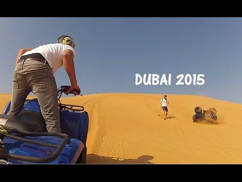 Road tripping, quad biking and crashing in Dubai