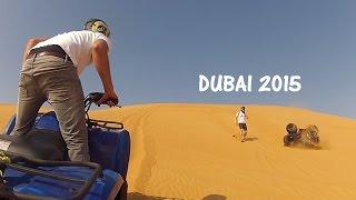 Road tripping, quad biking and crashing in Dubai - GoPro 2015