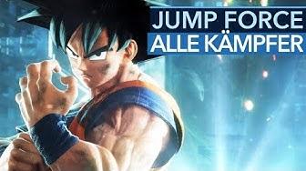 Alle 40 Kämpfer aus Jump Force (Gameplay)