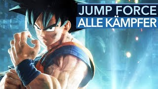 Alle 40 Kämpfer aus Jump Force (Gameplay)