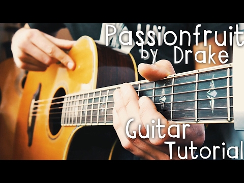 Passionfruit Drake Guitar Tutorial // Passionfruit Guitar Lesson!