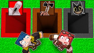 BUCO SCP VS BUCO SIREN HEAD VS BUCO CARTOON CAT! - MINECRAFT