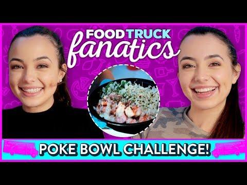 POKE BOWL CHALLENGE?! Food Truck Fanatics w/ Merrell Twins