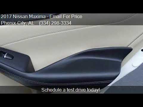 c84bde581a 2017 Nissan Maxima for sale in Phenix City