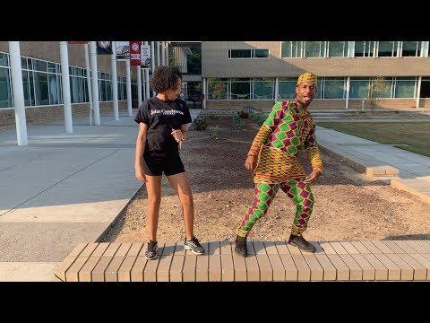 Therrell High School Students Teach Teachers To Dance!