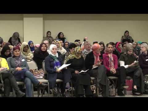 Gathering at Islamic foundation Villa Park to express solidarity with Muslims ( Complete Video)