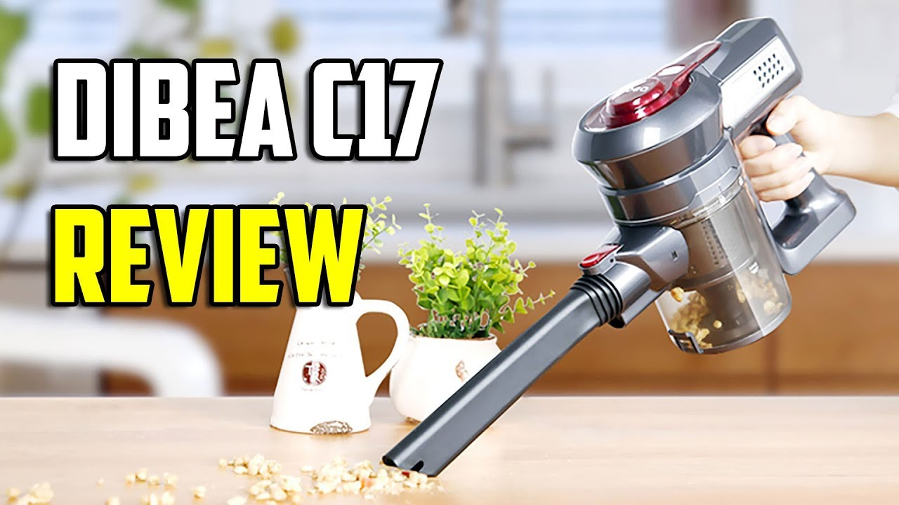 dibea c17 cordless vacuum cleaner review best dyson v8 clone youtube. Black Bedroom Furniture Sets. Home Design Ideas