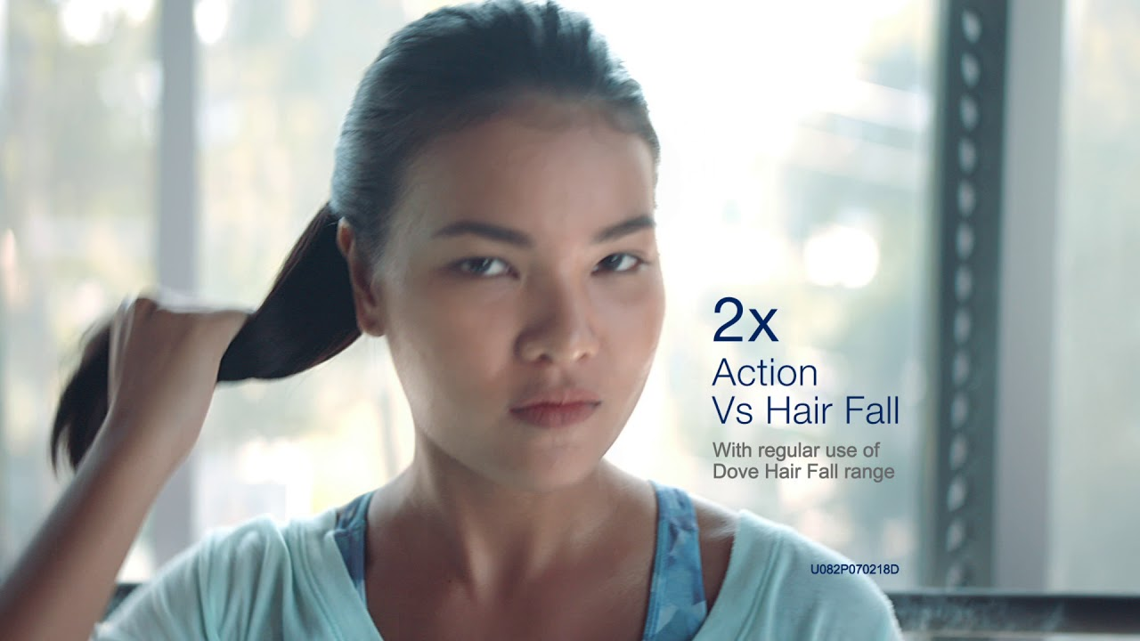 Try New Dove Hair Fall Range with dual action protection against hair fall!