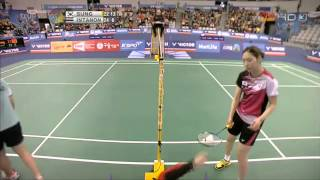 2014 Victor Korea Open รัชนก vs  Sung Ji Hyun - WS - [Semi Finals]