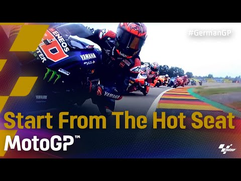 The Start from the Hot Seat |2021 #GermanGP