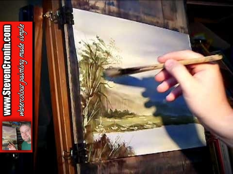 Uphill, Somerset Watercolour Landscape Painting Lesson Part 3 of 3