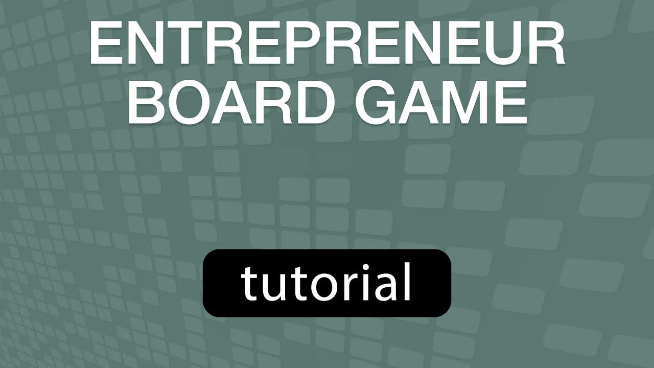 GoVenture Entrepreneur Board Game, Tabletop Business Game, Tutorial Video