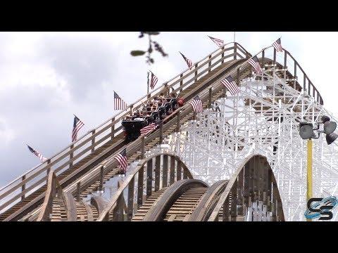 Mine Blower Review Fun Spot America Kissimmee Roller Coaster