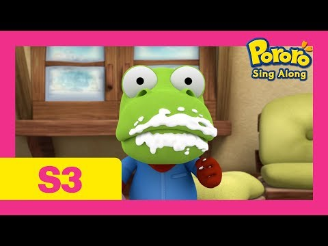 [NEW] Pororo Singalong show S3 | #2 Hiccup Waltz | Hiccup song | Nursery Rhymes | Kids Pop