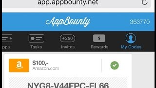 Hack AppBounty & Get Unlimted Credits (  iOS - Android )