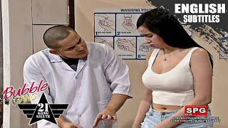 Bubble Gang: Kim Domingo as Ms. Navarro