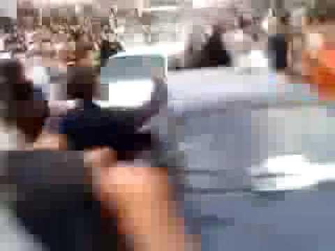 IRAN Police kill protester
