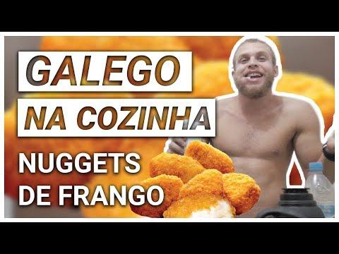 como fazer nuggets de frango no forno - galego na cozinha #1