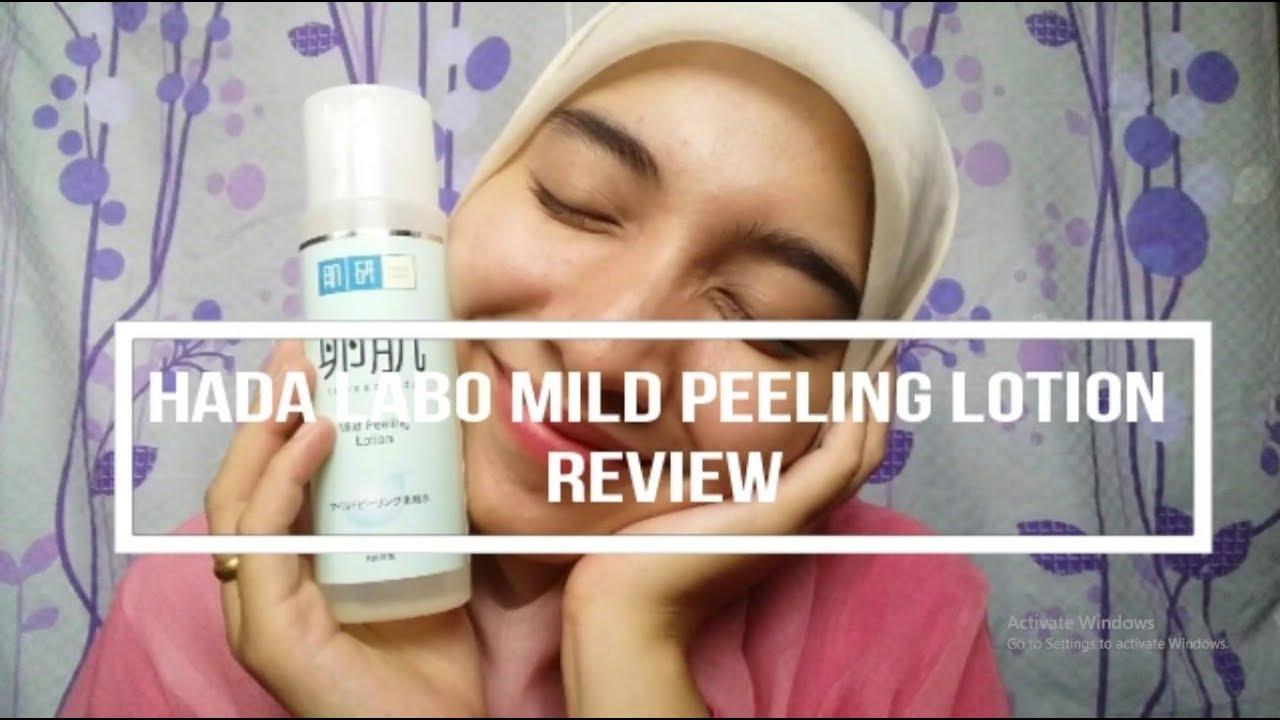 Review Hada Labo Mild Peeling Untuk Jerawat