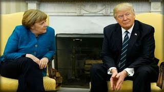 99% OF AMERICANS DIDN'T SEE WHAT TRUMP REALLY DID TO GERMAN CHANCELLOR ANGELA MERKEL YESTERDAY!