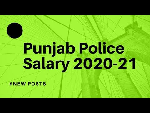 Punjab Police Constable Salary 2019 (पंजाब पुलिस