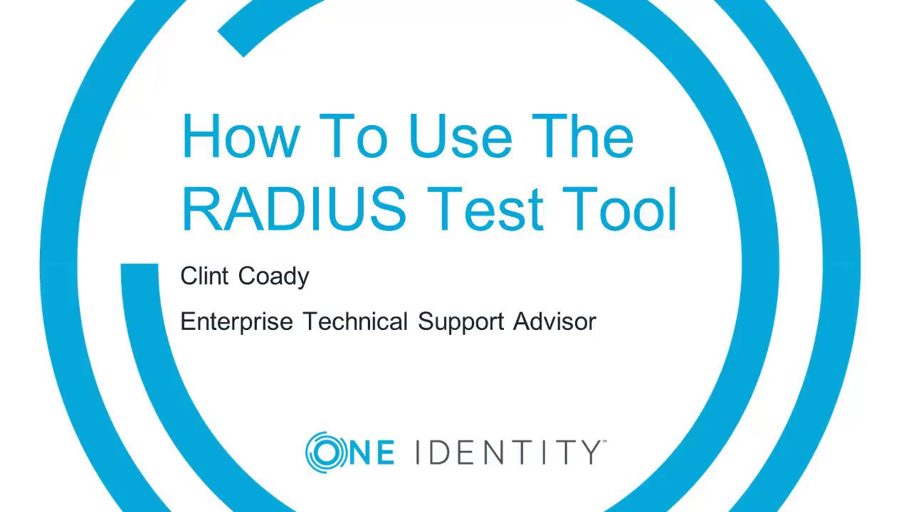 How to use the Radius Test Tool