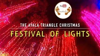 Wanderful: The Ayala Triangle Christmas Festival of Lights   Makati City   Philippines