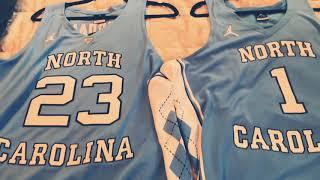 Michael Jordan North Carolina Jersey (2017 version) Quick Review