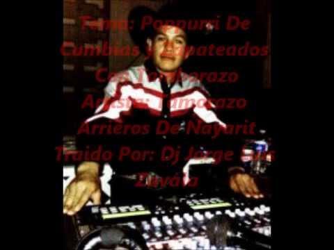 Tamborazo Arrieros De Nayarit Poppuri De Cumbias Y Zapateados Mix Dj Jorge Luis Zavala
