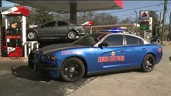 Suspect steals Georgia State Patrol car after chase, crash