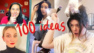 100 things you need to try at home!