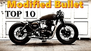 Top 10 Modified Royal Enfield Bullet in India 2017