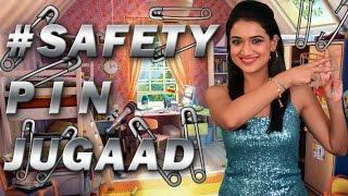 #SafetyPinJugaad | #Jugaad | DIY Thumbnail