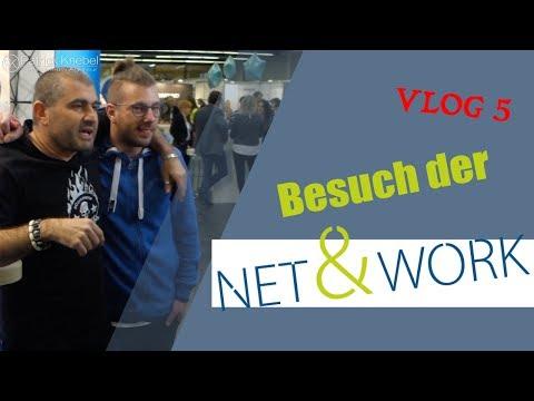 Besuch der NET & WORK Messe in Dortmund - Social Media Agentur Vlog 5