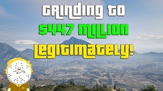 GTA Online Grinding to $447 Million Legitimately And Helping Subs