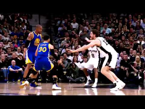 2016-17 Dubs Top Moments: Kevin Durant Blocks Twice in San Antonio