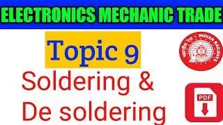 ELECTRONICS MECHANIC for railways
